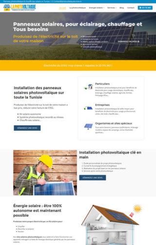 Photovoltaique Tunisie